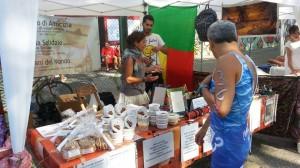 il gazebo della Maison al Triathlon di Faenza